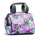Fit & Fresh Charlotte Insulated Lunch Bag for Women Girls with Ice Pack