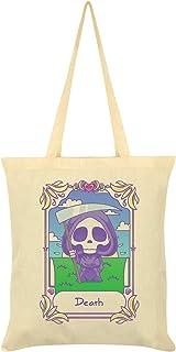 Deadly Tarot Kawaii Death Tote Bag Cream 38x42cm