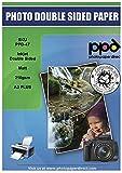 PPD Inkjet 100 Fogli A3 Plus (329x483mm) Carta Fotografica Professionale Fronte-Retro Opaca 210g Per Stampanti A Getto D'Inchiostro - PPD-47-100