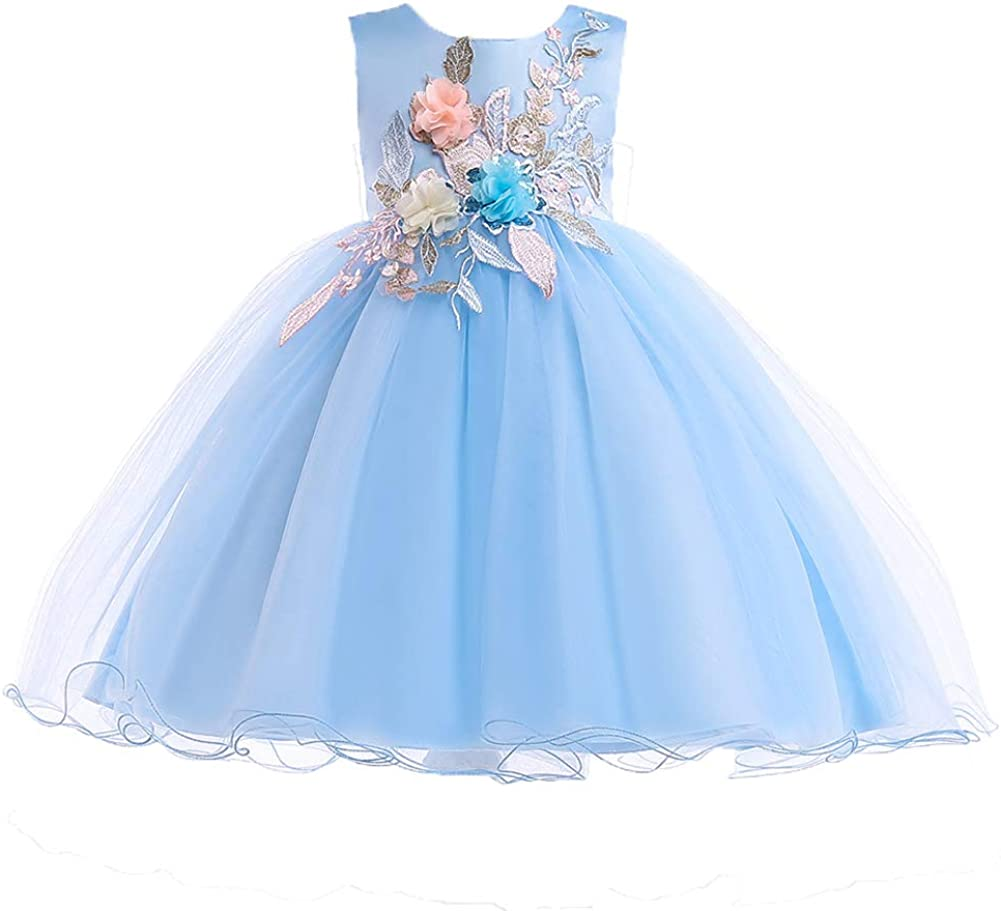 AIMJCHLD Selling rankings 2-10T Kids Max 63% OFF Flower Girl Dress Party Teen Pageant C Girls