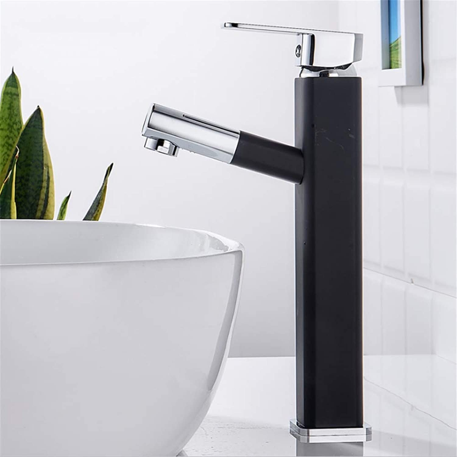 Pull-Out Basin Faucet, Available in a Variety of Styles Brass Faucet, Black and Silver