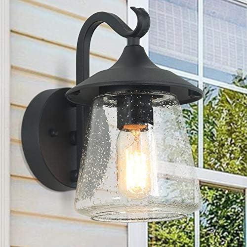 ISURAUL Farmhouse Porch Light Direct sale of manufacturer Outdoor Fixtures Wall Black 2021