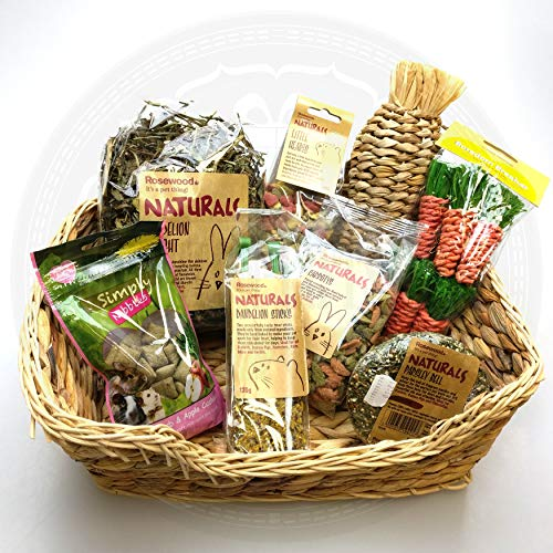The Hoppy Hamper - Treats for your Bunny/Rabbit - By Moreton Gifts