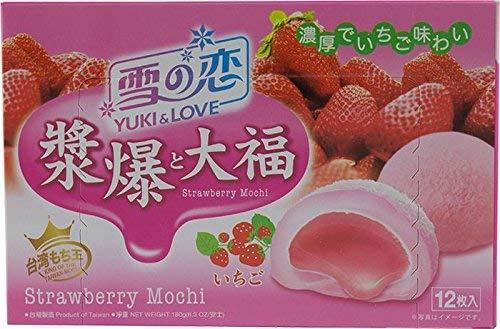 Yuki & Love Fresa De Mochi 180G / 6.3 Oz