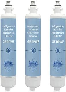 Replacement Water Filter for GE GYE22HSKSS / GYE22KMHBES Refrigerator Models (3 Pack)