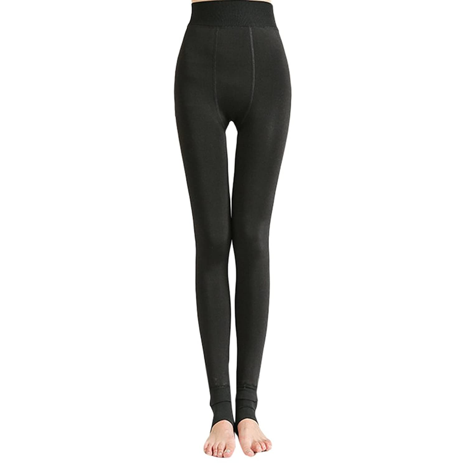 Zhhlaixing ファッション Plus Cashmere Thick Pants New Warm Breathable Comfortable レギンスパンツ for Ladies Women