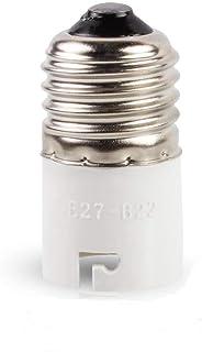 Hakkatronics Bases/convertisseurs de douille d'ampoule, E27 to B22, B22d 240.00 volts