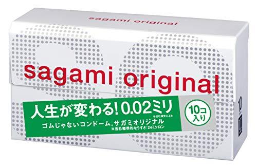 Sagami Original 002 Kondome, 10 Stück