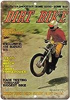 Dirt Bike ティンサイン ポスター ン サイン プレート ブリキ看板 ホーム バーために