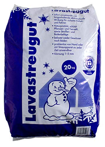 Hamann Lavastreugut 20 kg - Für einen sicheren Halt unmittelbar nach der Ausbringung
