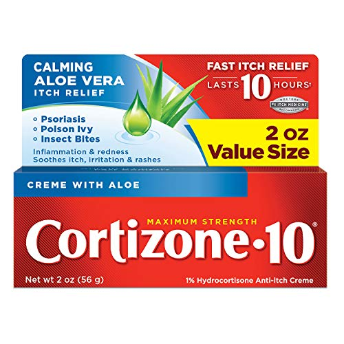 Creme Cortizone-10 Max Strength 56g - Força Máxima