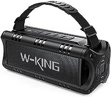 W-KING Bluetooth-högtalare, 30W bärbar trådlös högtalare, vattentät, 24 timmars speltid, 5000mAh-batteri med...