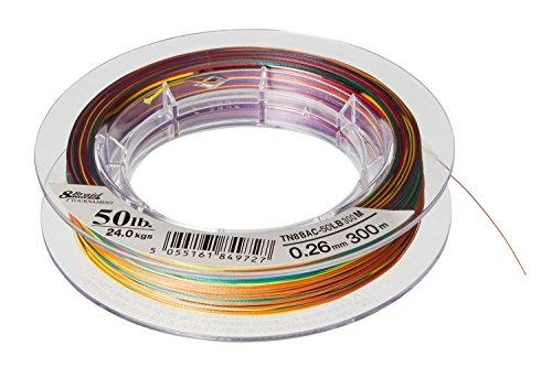 Daiwa Tournament 8 Braid 0.45mm 1000m Multicolor Geflochtene Schnur