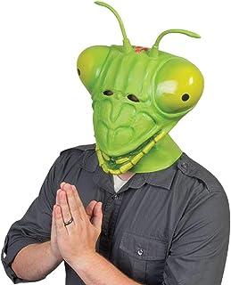 fanituhan ハロウィン アニマルマスク カマキリ 蟷螂 マスク 仮面 お面 ラテックスマスク 動物マスク 変装用マスク コスチューム用小物 グッズ コスプレ