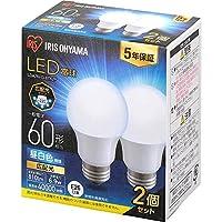 LED電球60W形相当昼白色(トイレの照明)
