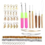 Flexible Cabello Anillos, Tejer Opciones Calidad Aleación Material Como Imágenes Show Cuello Plumero Cepillar Metal por Fiestas