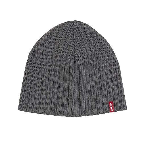 Levi's Herren Hut Mütze aus grauem Stoff 38022-0070