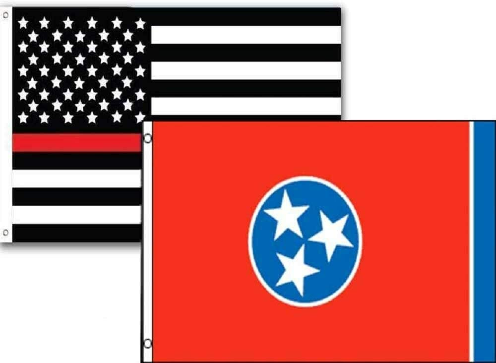 JumpingLight 3x5 USA Thin Popular products Red Line W State 2 Tennessee Ranking TOP10 Pack Flag