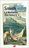 La richesse des nations - Tome 1 by Adam Smith(1999-01-04) - Flammarion - 01/01/1999
