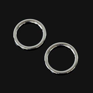 CFHMLK Per Mitsubishi ASX outlander 2013-2016 ABS finiture cromate anello audio adesivi per auto porta altoparlanti decorazione cerchio copertura 2 pezzi//set