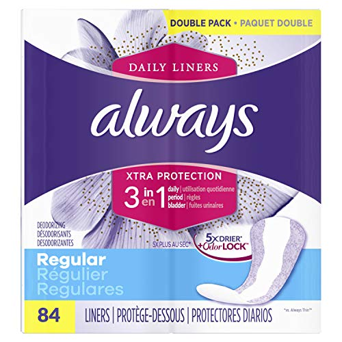 Always Xtra Protection 3-in-1 Daily Liners...