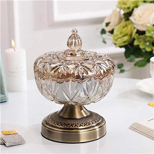 Vase Retro Glasvase Metalllegierung Goldvase Moderner Tisch Künstliche Blumenflasche Home Furnishing Wohnzimmerdekoration Brownb