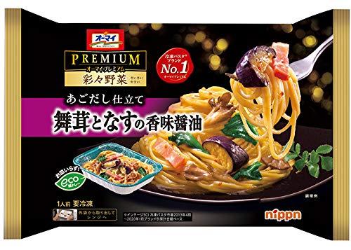 【冷凍】オーマイプレミアム 彩々野菜 舞茸となすの香味醤油 X6袋