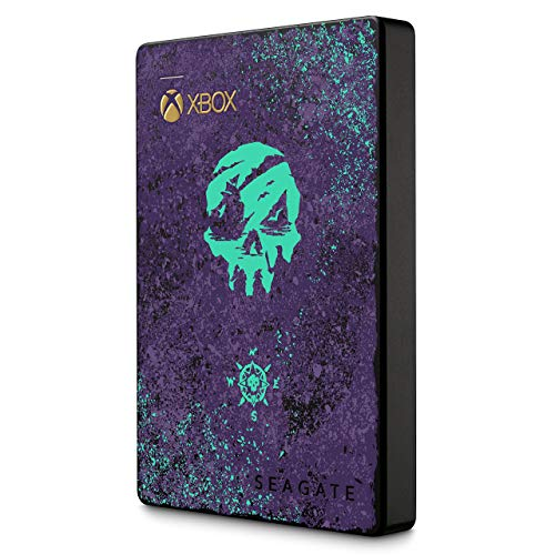 Seagate Game Drive for Xbox - Sea of Thieves Edition, tragbare externe Festplatte 2 TB, 2.5 Zoll, USB 3.0, Xbox, inkl. 2 Jahre Rescue Service, Modellnr.: STEA2000411