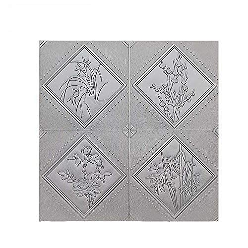 Revestimiento de pared moderno, paneles de pared 3D, paneles de pared de papel tapiz, papel tapiz autoadhesivo con apariencia de piedra, panel de espuma de bricolaje con apariencia de piedra, montaje