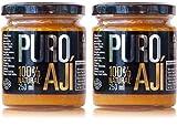 Pack Ají Amarillo La Sarita | Formato ahorro | 100% narural | Sin conservantes ni sabores artificiales | Sin gluten | Apto para veganos