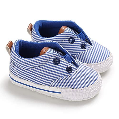 DBSUFV Zapatos de Tacones Planos de Lona de Corte bajo con Suela Suave para bebés, Zapatillas con Cordones