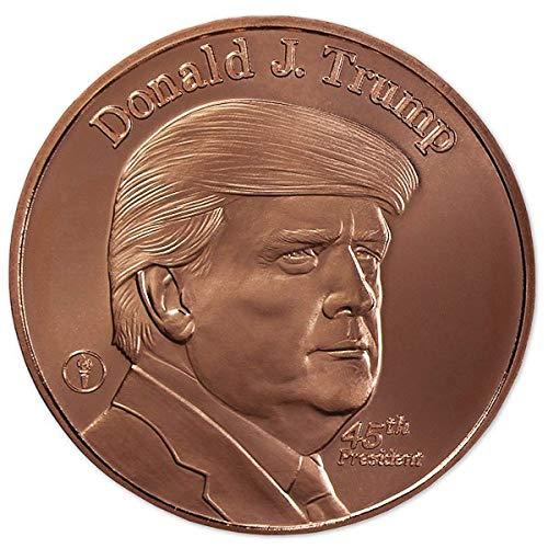 Trump Copper Round 1oz Pure Copper Coin