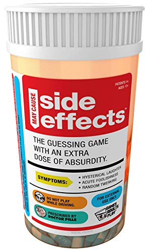 GAMES ADULTS PLAY (May Cause) Side Effects - Word Guessing Game at It's Hysterical Best - Get Your Teammate to Guess The Word Or Phrase for A Chance to Win