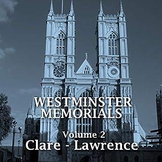Westminster Memorials - Volume 2 cover art