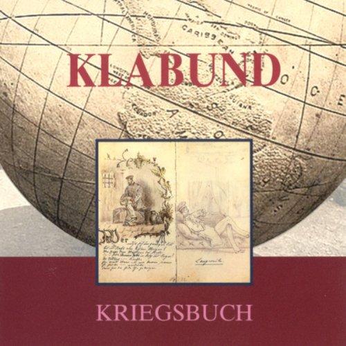 Klabund. Kriegsbuch Titelbild