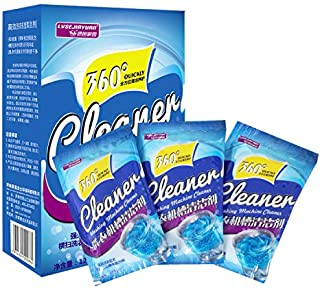 Washer Machine Cleaner, Gayrrnel 3-Tablets 13.3 oz - Powder Washer Machine Cleaner for Laundry Tank