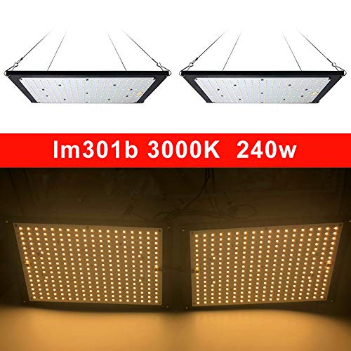 led Grow Light Board LM301B 288Pcs Chip Full Spectrum 240w Samsung 3000K Veg/Bloom State Meanwell Driver