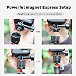 Tripod Mount Adapter for Gopro, ULANZI Quick Release Tripod Base Mount 1/4 Screw + Universal Action Cam Mount Accessory… 12 ULANZI GP-4 Quick Release Tripod Mount Base for Gopro Heo 8 7 6 5 Black/Gopro Max/DJI Osmo Action/insta 360 1/4 Thread Tripod Mount Adapter------Compatible with universal 1/4 screw tripod monopod battery handle grip extension pole stick Universal Action Camera Mount------Compatible with action cam tripod Gopro Shorty