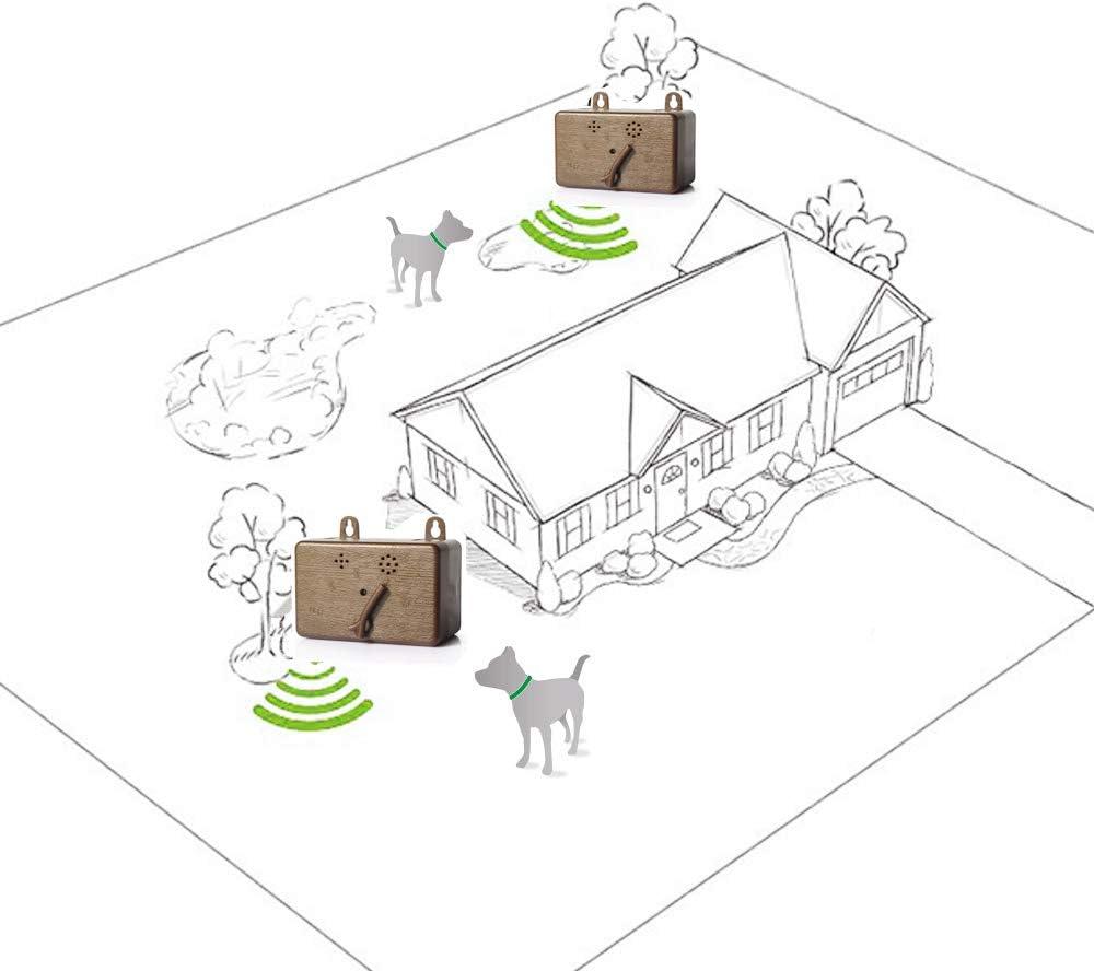 ZNFSZ Ultrasonic Barking Control Device Anti Barking Device Bark ...
