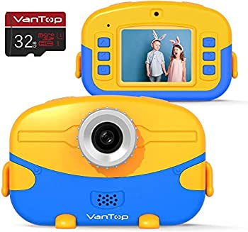 VanTop Junior K6 Kids Camera with 32GB Memory Card