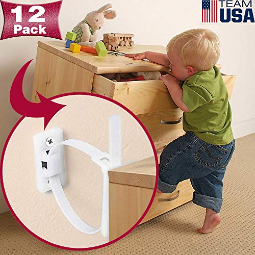 Anti-Tip Furniture Kits for Child Safety by Vatcat