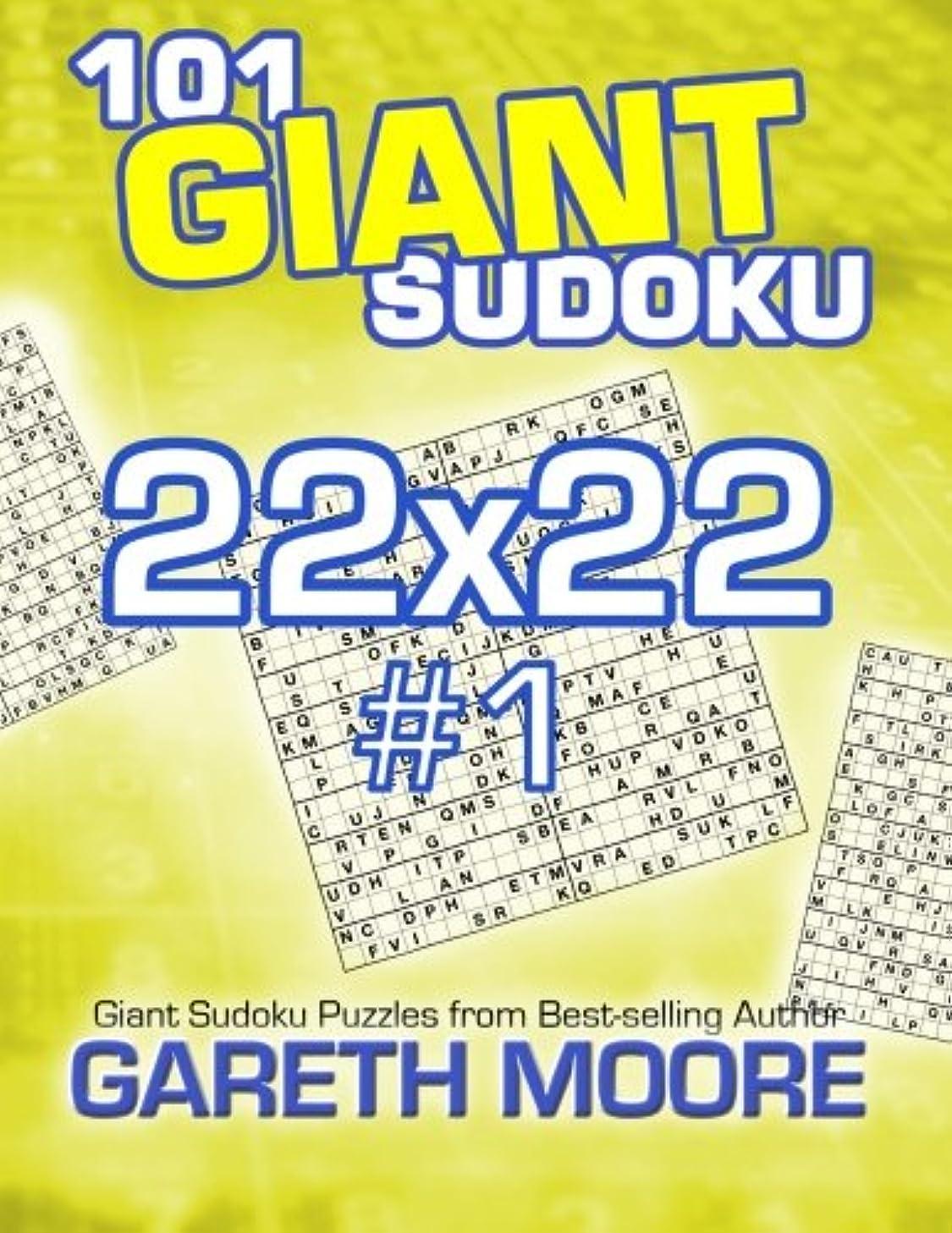 101 Giant Sudoku 22x22 #1