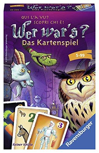 Ravensburger - 23395 3 - Jeu de Cartes - Qui Était-Ce?
