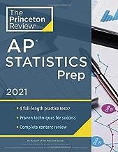 Princeton Review AP Statistics Prep, 2021: 4 Practice Tests + Complete Content Review +..