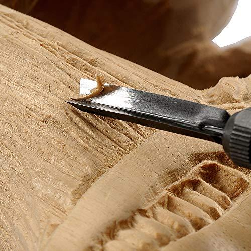 プロクソン(PROXXON)カービングプロ電動彫刻機刃の振動で簡単に彫刻【彫刻刃3本付】No.28640