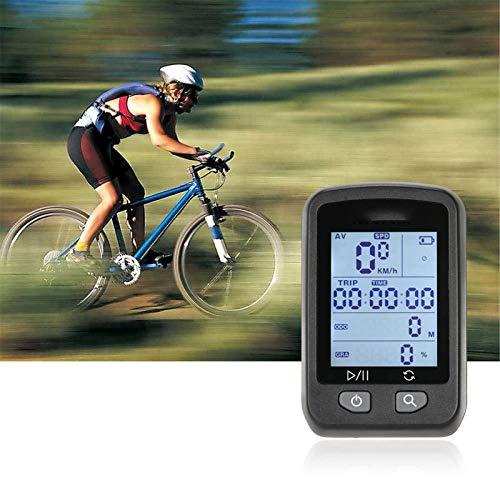 Lshbwsoif Ciclo Computadoras Bicicletas Recargable GPS Ordenador Bicicletas Odómetro