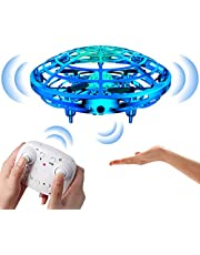 Flying Toys, Drone for Kids with Remote Control, Mini RC Drone with 2 Speed Models for Birthday Gifts for Kids Toddlers Boys & Girls, Blue