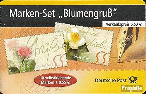 precioso Prophila Collection RFA (RFA.Alemania) MH55d (Completa.edición.) 2004 Correos Correos Correos  (Sellos para los coleccionistas) Planta  Felices compras