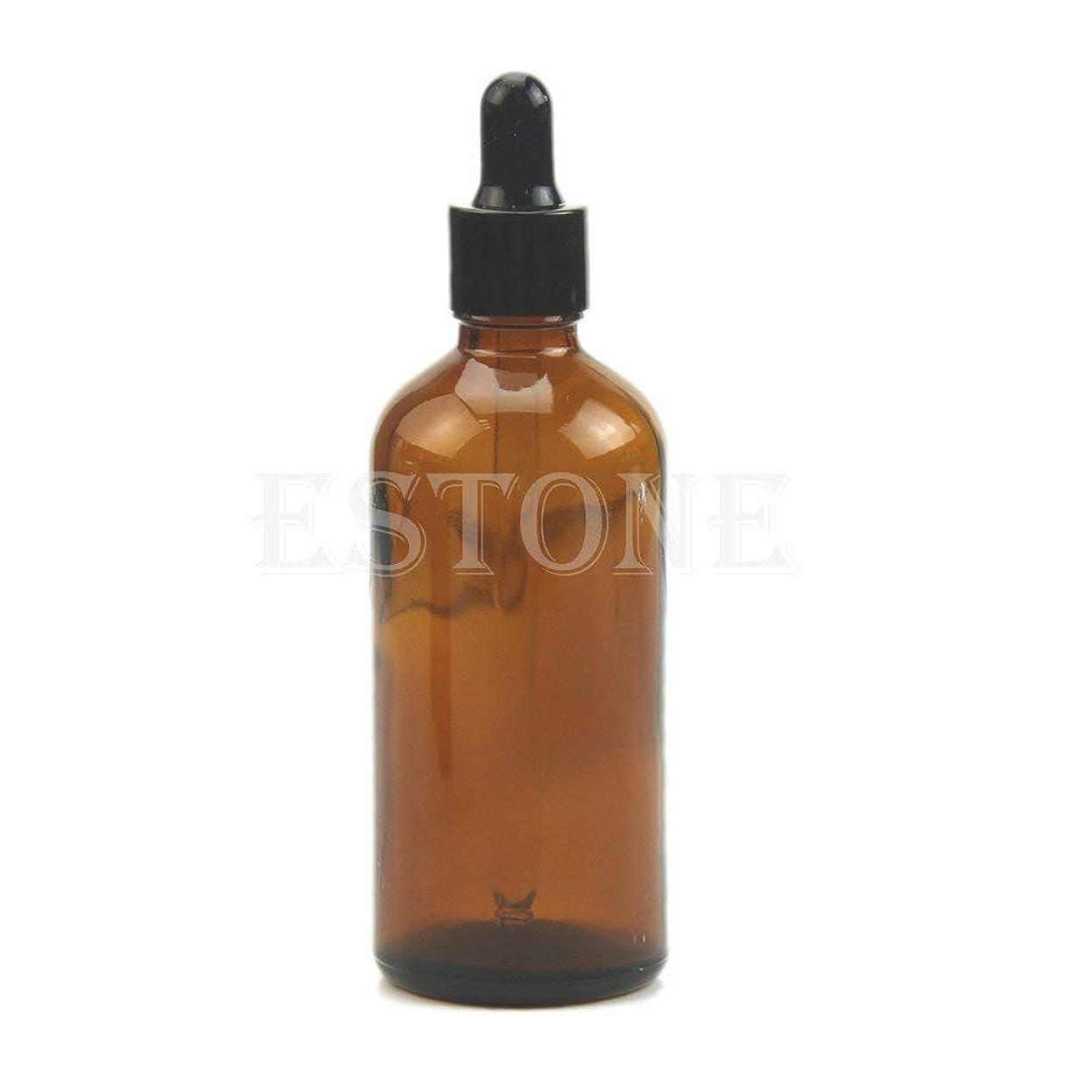 その他刺繍勧告SimpleLife 100mlアンバーガラス液剤ピペット瓶アイドロップアロマテラピー(容量:100ML)