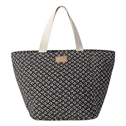 CODELLO Damen Limited Edition Logo-Shopper aus Canvas